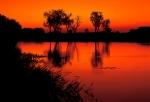 Red-dusk-on-Yellow-waters-at-Kakadu-national-park