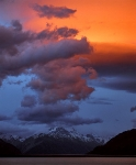 Dusk-and-clouds-on-Mount-Cook-in-New-Zeland